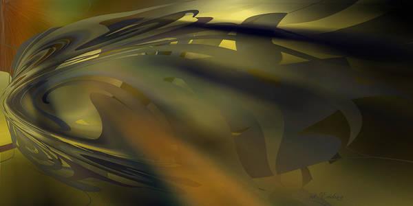 Digital Art - Dawn - Abstract by rd Erickson