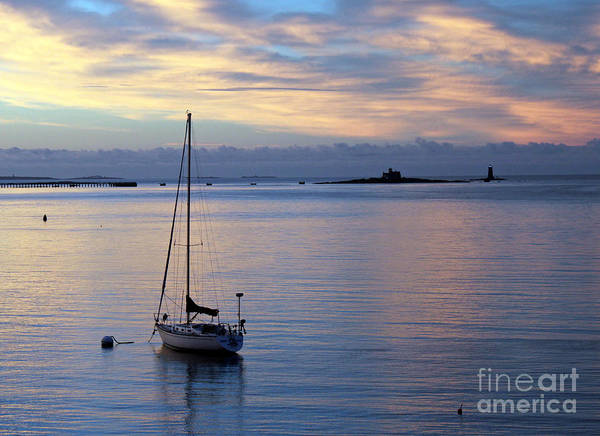 Wall Art - Photograph - Dawn At Kittery Point  Maine by Steve  Gass