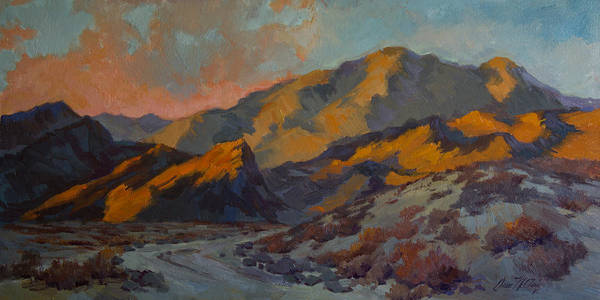 La Quinta Wall Art - Painting - Dawn At La Quinta Cove by Diane McClary