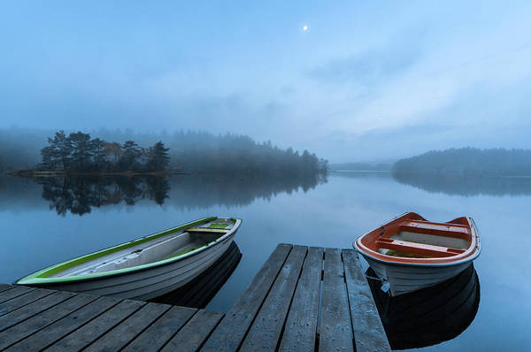 Wall Art - Photograph - Dawn At The Lake by Benny Pettersson