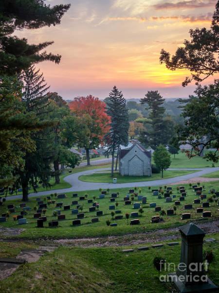 Photograph - Dawn At Woodlawn by Kari Yearous
