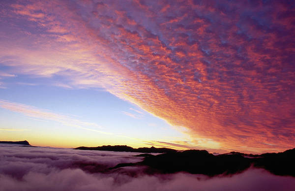 Franklin Park Photograph - Dawn Clouds Over National Park by Grant Dixon
