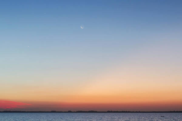 Photograph - Dawn Conjunction by Rob Graham