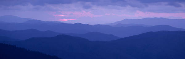 Wall Art - Photograph - Dawn Great Smoky Mountains National by Panoramic Images