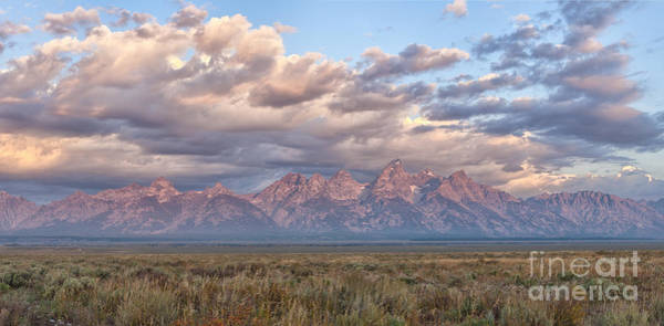 Wall Art - Photograph - Dawn In The Grand Tetons by Sandra Bronstein