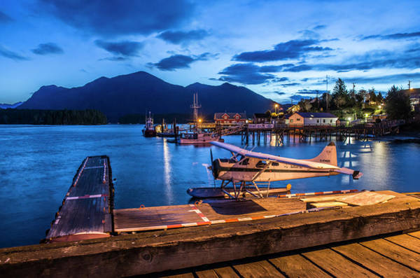 Wall Art - Photograph - Dawn In Tofino And The Downtown by Alasdair Turner
