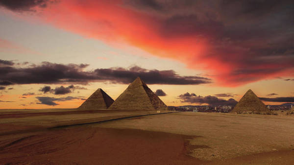 The Past Photograph - Dawn Of The Pharaohs by Nick Brundle Photography