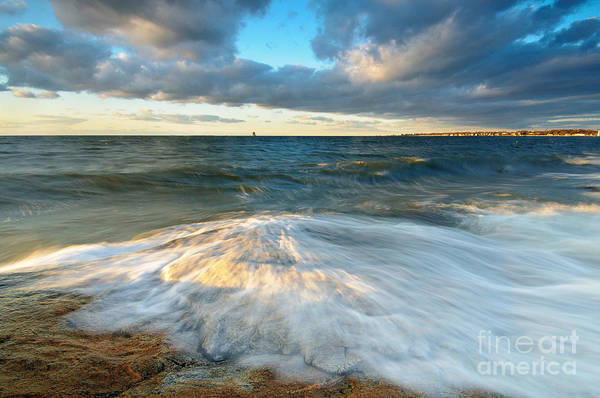 Wall Art - Photograph - Dawn On Avery Point by JG Coleman