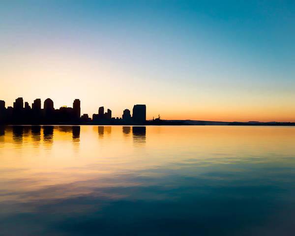 Photograph - Dawn On San Diego Bay by Priya Ghose