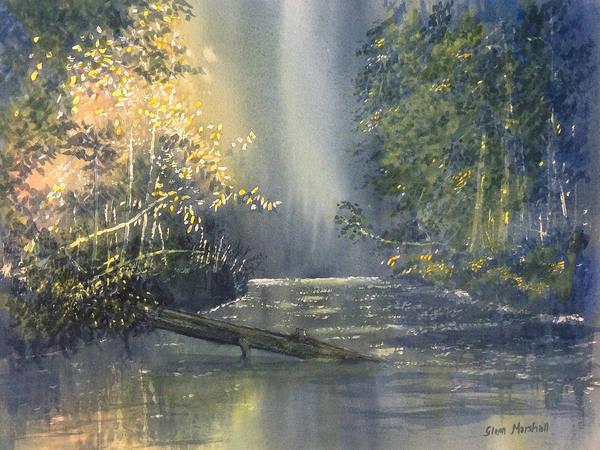 Dawn On The Derwent Art Print