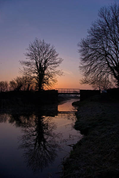 Photograph - Dawn On The Grand Western Canal by Pete Hemington