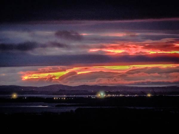 Photograph - Dawn Over Ireland's Shannon Airport by James Truett