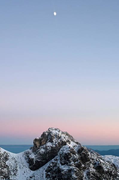 Franklin Park Photograph - Dawn Over Lions Head Peak In Winter by Grant Dixon