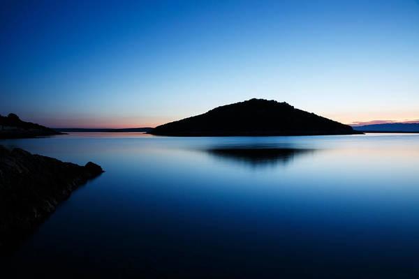 Losinj Photograph - Dawn Over Veli And Mali Osir Islands On Losinj In Croatia by Ian Middleton