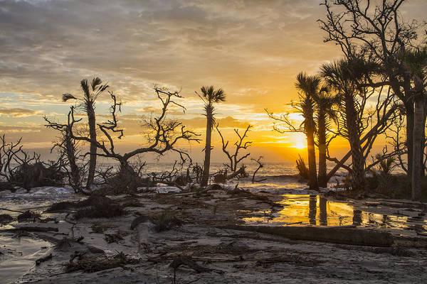 Photograph - Dawn Silhouettes 06 by Jim Dollar
