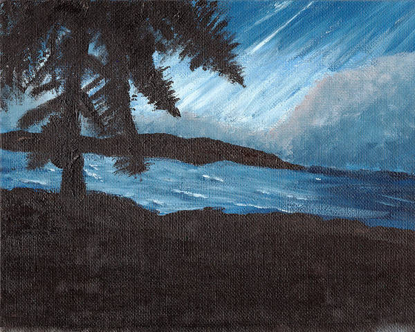 Painting - Dawn1 by Davend Dominick