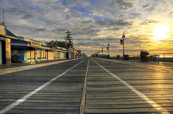 Boardwalk Photograph - Dawning Of A New Day by Dan Myers