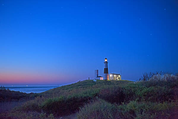 Photograph - Dawn's Early Light At Montauk Point by William Jobes