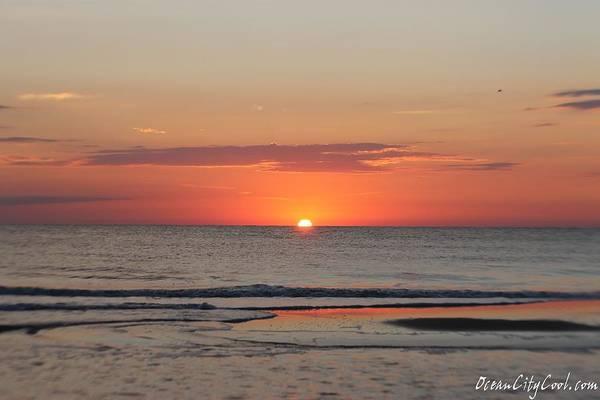 Photograph - Dawn's Ocean Ripples by Robert Banach