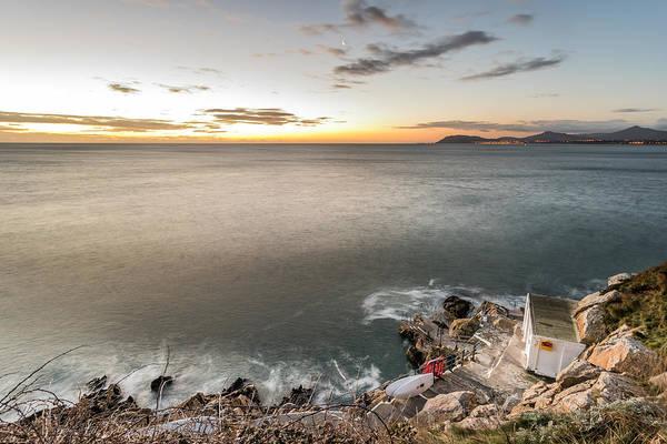 Konica Wall Art - Photograph - Day And Night Hawk Cliff Killiney Dublin Ireland by Giuseppe Milo