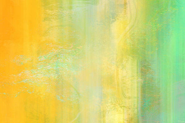 Mixed Media - Day Bliss - Abstract Art by Jaison Cianelli