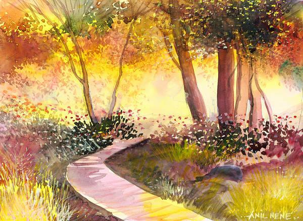 Painting - Day Break by Anil Nene