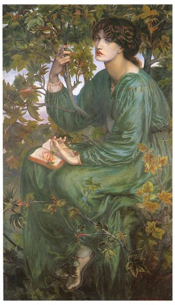 Gabriel Painting - Day Dream by Dante Gabriel Rossetti