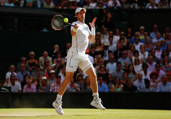 Tennis Photograph - Day Eleven The Championships - by Julian Finney
