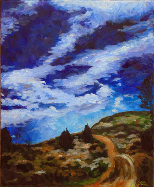 Painting - Day Hike by Susan Moore
