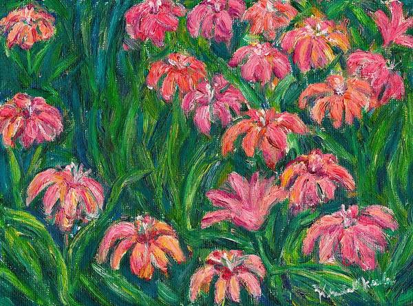 Painting - Day Lily Rush by Kendall Kessler
