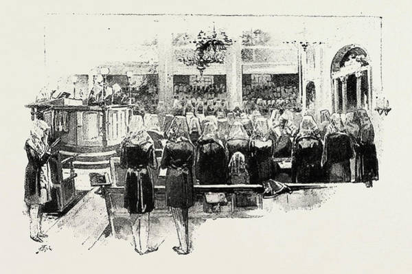 Wall Art - Drawing - Day Of Atonement, Concluding Service by Litz Collection