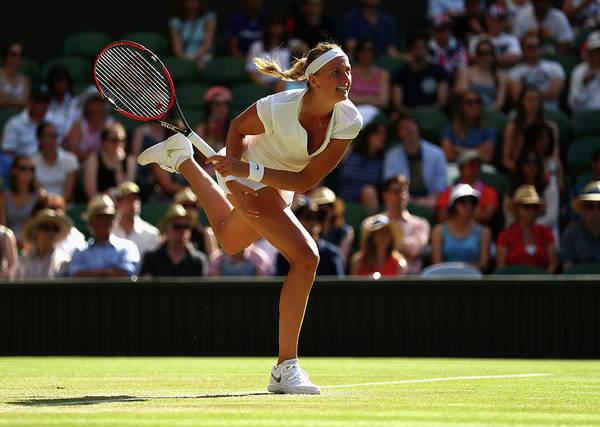 Tennis Photograph - Day Six The Championships - Wimbledon by Clive Brunskill