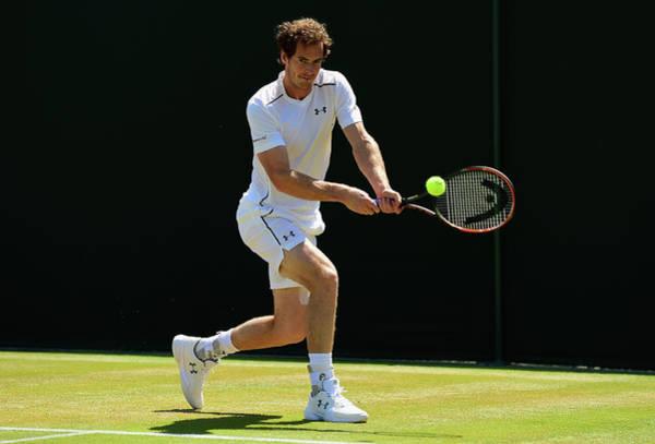 Tennis Photograph - Day Ten The Championships - Wimbledon by Shaun Botterill