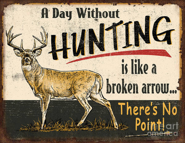 Painting - Day Without Hunting by JQ Licensing
