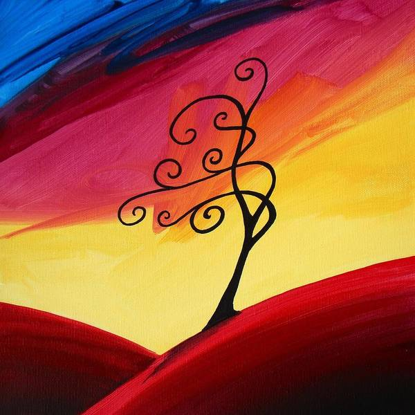 Wall Art - Painting - Daybreak by Cindy Thornton
