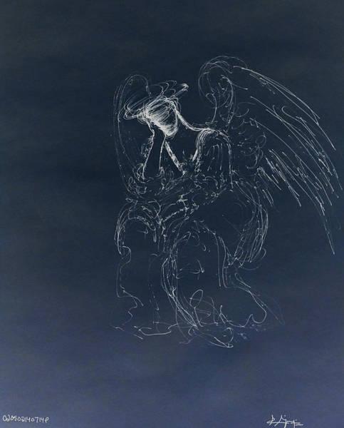 Drawing - Daydreaming II by Giorgio Tuscani
