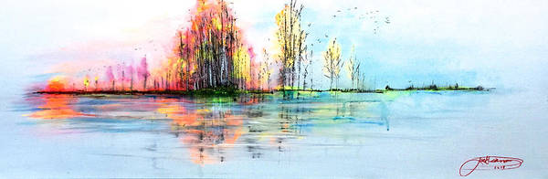 Painting - Days End by Jack Diamond