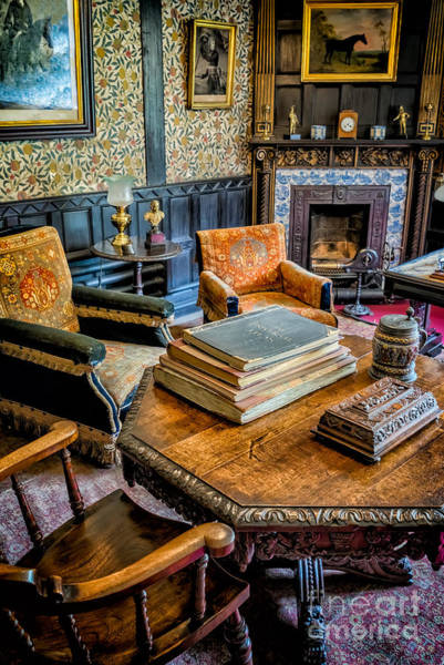 Fire Place Photograph - Days Gone By by Adrian Evans