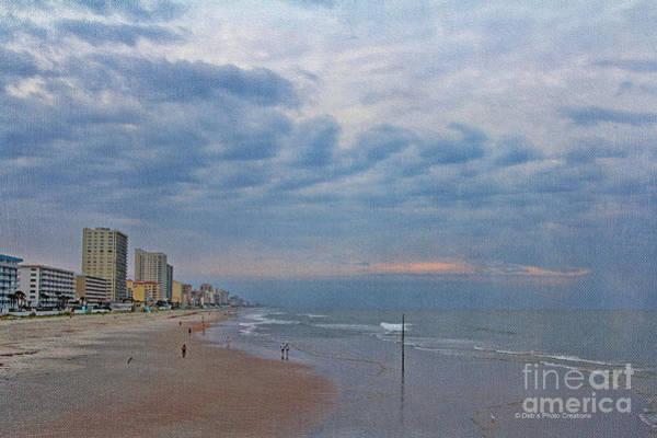 Photograph - Daytona Beach Saturday Morning by Deborah Benoit