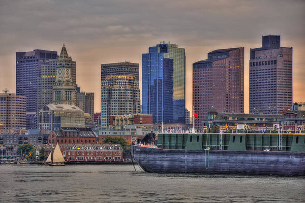 Wall Art - Photograph - Dbl 134 Barge - Boston by Joann Vitali