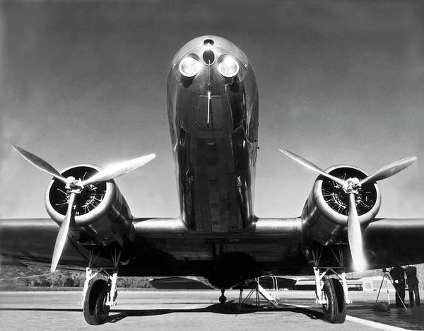Photograph - Dc-2 Plane by Underwood Archives