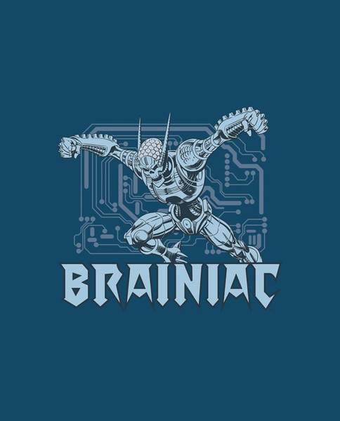 Supervillain Digital Art - Dc - Brainiac by Brand A