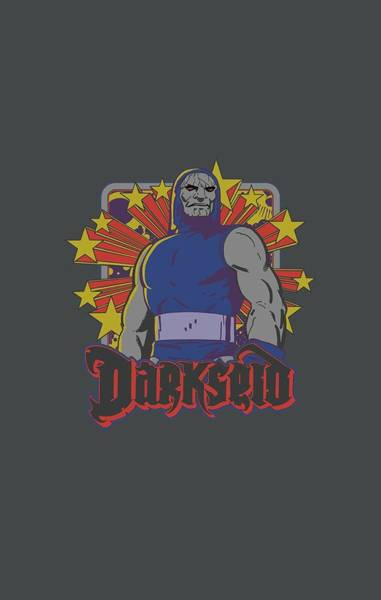 Supervillain Digital Art - Dc - Darkseid Stars by Brand A