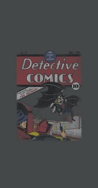 Dark Knight Digital Art - Dc - Detective #27 Distressed by Brand A