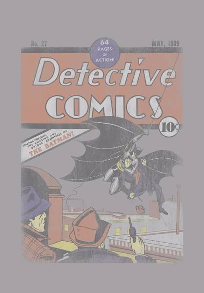 Dark Knight Digital Art - Dc - Detective 27 by Brand A