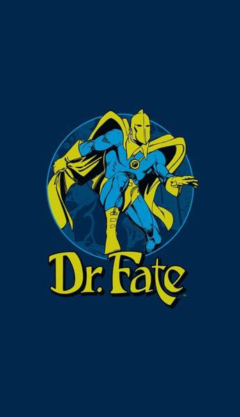 Society Digital Art - Dc - Dr Fate Ankh by Brand A