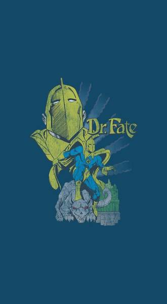 Society Digital Art - Dc - Dr Fate by Brand A