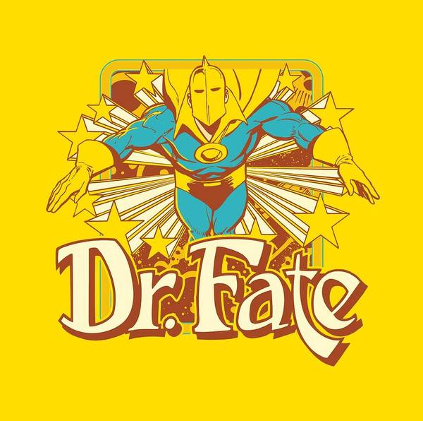 Society Digital Art - Dc - Dr Fate Stars by Brand A