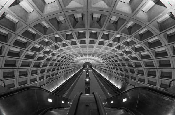 Art Print featuring the photograph D.c. Subway by Dustin  LeFevre