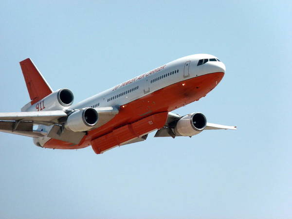 Photograph - Dc10 Air Tanker  by Jeff Lowe